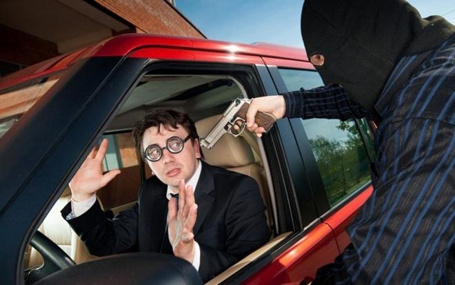 действия при краже из автомобиля проплывет